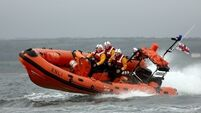 Dun Laoghaire RNLI come to the aid of two people off Dublin coast
