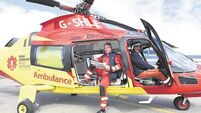 Air ambulance project set for take-off