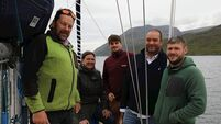 Irish and Dutch crew Greenland-bound for climate study