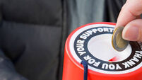 Registered charities increased by 1,321 last year