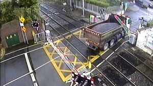 Footage shows dangerous incidents at level crossings as Irish Rail calls for vigilance
