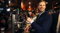 'We love this place more than anything': Trump's sons hail Doonbeg as they pour pints for locals