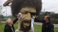 Luke Kelly statue restored to original state following 'mindless destruction'