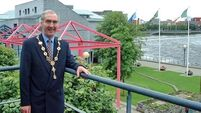 Limerick pays tribute to former mayor Sadlier