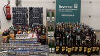 Cigarettes and alcohol worth  €8,000 seized at Dublin Port