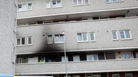 Man who set apartment fire that melted girl's hearing aid in her ear jailed for 10 years