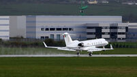 State jet costs close to €1m last year