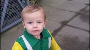 Father of hit-and-run toddler 'blown away' by public support