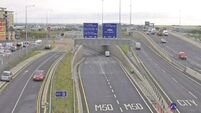 Delays expected after M50 reopens following collision