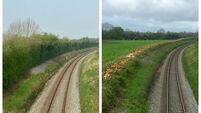 Irish Rail defends itself after 'deliberate destruction' claims along line in Offaly