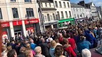 Over 1,000 people protest in Thurles over post office relocation