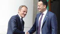 Taoiseach meeting Tusk in Dublin as Brexit Day looms closer