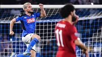 Liverpool pay the penalty as Napoli beat Champions League holders