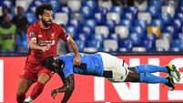 Reds trip up on night of frustration in Naples
