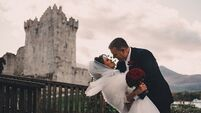 Wedding of the Week: Filmmaker Damian meets his real-life leading lady