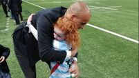 Simon Zebo brings Hanna, 8, on dream trip to Racing 92