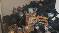 Cork landlord horrified as house covered in rubbish