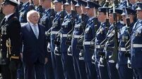 President Higgins leads Easter Rising ceremony in Dublin