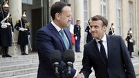 Ireland will not be abandoned if there is a no-deal Brexit, insists Macron