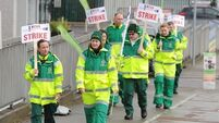 Ambulance staff hold fifth day of strike action over union choice