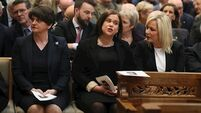 McDonald and Foster 'ready' for restored Assembly  following challenge at Lyra McKee funeral