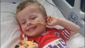 'He is smiling. He is laughing': Cork toddler injured in hit-and-run 'doing well'
