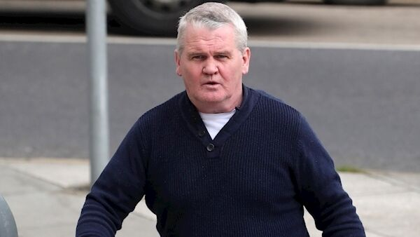 Maurice Lafferty outside court today. Pic: Collins