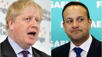 Varadkar plays down hopes of deal with British in 'high stakes' talks