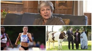 Sunday's evening round-up: May's talks with Corbyn; IS bride's plea to return; Ireland's fastest woman