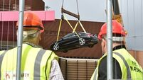 First cars removed from Douglas multi-storey carpark