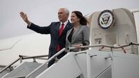 Passenger flight diverted to allow Pence plane depart