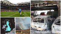 Evening Round-up: Cork blaze; All-Ireland replay; Yemen airstrikes kills dozens