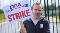'We'd prefer to be working' - Ambulance staff begin second day of strike over union recognition