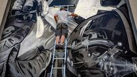 Cork marks 50th anniversary of moon landing with space-themed mural
