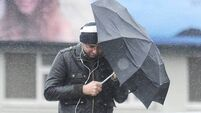 Status yellow weather warning in place for whole country