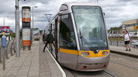 Luas passengers told to expect delays this evening