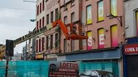 Works to stabilise historic Cork buildings to begin