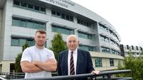 Munster captain Peter O'Mahony unveiled as CUH Charity brand ambassador
