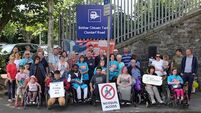 'I had to leave my job,' says one wheelchair user at DART station protest over broken lifts