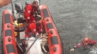 Pair rescued after jumping into Liffey to save dog that wasn't theirs