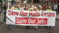 Cork mail centre on brink of closure make plea to Minister Bruton