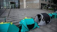 Tent city created outside Dublin council HQ to highlight homelessness