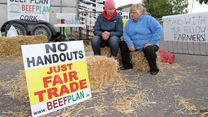Legal threat ups beef protest tensions