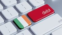 National debt hit €206bn last year