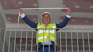 Louis Copeland measuring up new Cork store