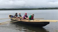 Four men in a boat bring traditional Irish craft to Canada