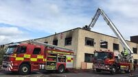 Calls for redevelopment following fire at derelict industrial building in Cork city