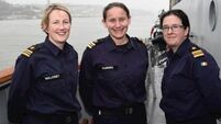 Three ships captained by women first time in Navy's history