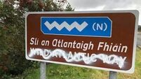 Donegal councillor encourages defacing of English signs in Gaeltacht