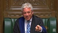 Commons Speaker John Bercow to stand down
